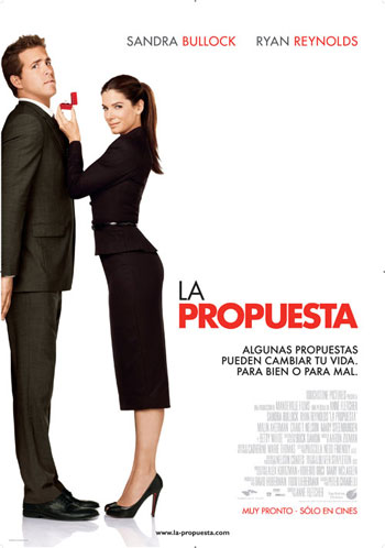 Proposal Ryan Reynolds on La Propuesta The Proposal Sandra Bullock Ryan Reynolds