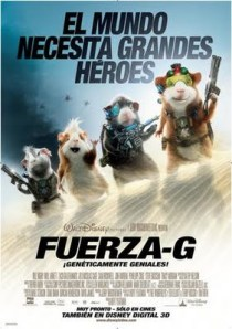 Fuerza-G - G-Force - Cinemarama