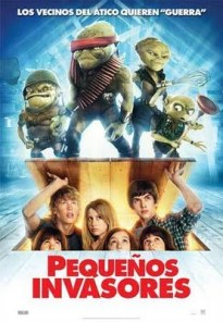 Pequeños invasores - Aliens in the Attic - Cinemarama