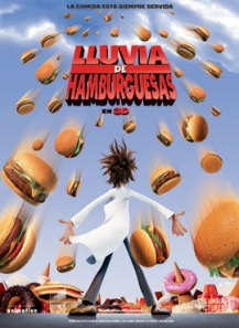Lluvia de hamburguesas - Cloudy with a Chance of Meatballs