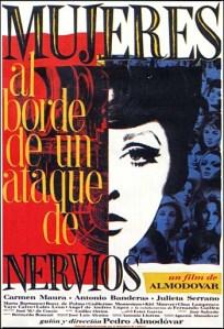 Dossier Almodóvar - Mujeres al borde de un ataque de nervios - C I N E M A R A M A