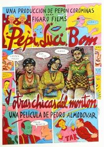 Dossier Almodóvar - Pepi. Luci, Bom y otras chicas del montón - C I N E M A R A M A