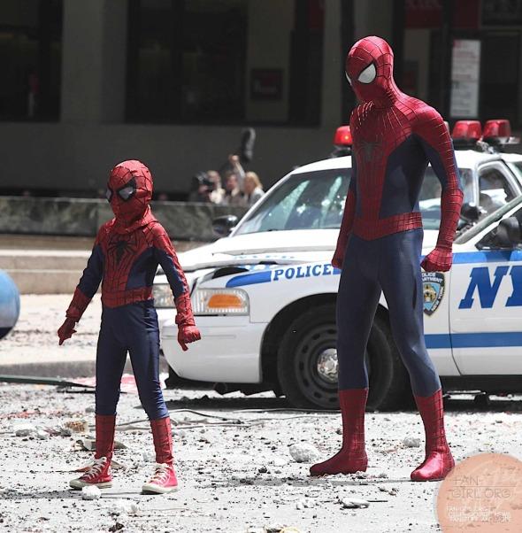 El sorprendente Hombre Araña 2: La amenaza de Electro (The Amazing Spider Man 2) - c i n e m a r a m a