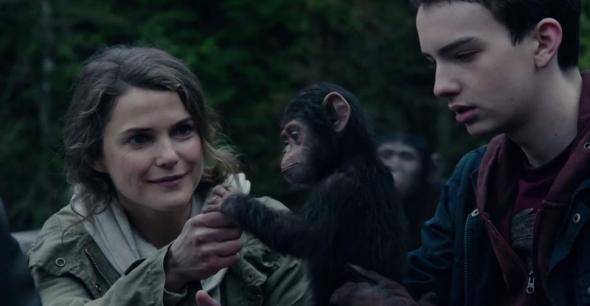 El planeta de los simios: Confrontación (Dawn Of The Planet Of The Apes) - c i n e m a r a m a