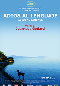 Crítica de Adiós al lenguaje (Adieu au langage) - c i n e m a r a m a