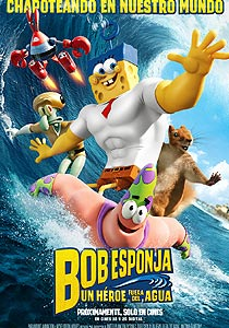 Bob Esponja: Un héroe fuera del agua (The SpongeBob Movie: Sponge Out of Water) - c i n e m a r a m a