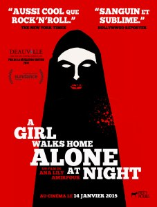BAFICI 2015 - A Girl Waks Home Alone At Night