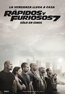Rápidos y furiosos 7 (Furious 7) - c i n e m a r a m a