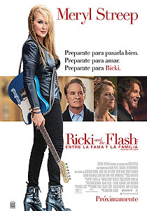Ricki and the Flash: Entre la fama y la familia (Ricki and the Flash) - c i n e m a r a m a