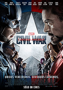 Capitán América: Civil War (Captain America: Civil War) - c i n e m a r a m a